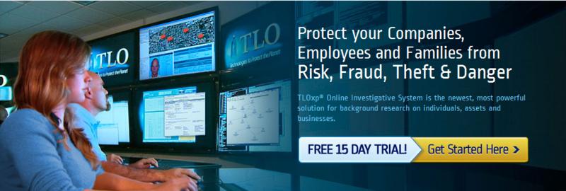 Investigative Research & Risk Management Tools - TLOxp®