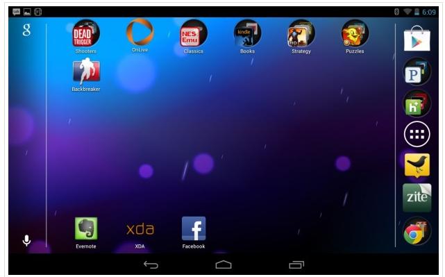How to Rotate the Nexus 7 Home Screen