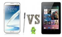 Samsung Galaxy Note 2 vs Nexus 7