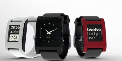 Pebble smart watch