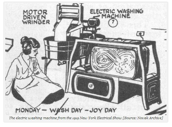 Washing machine electric