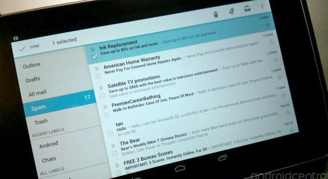 Gmail for Android – A Complete Walkthrough   Android Central