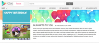 Google Play Turns 1  Celebrates With a Bunch of Gifts for You – Droid Life