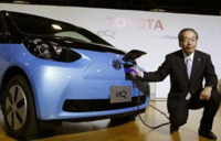 Toyota drops plan for widespread sales of electric car - Reuters
