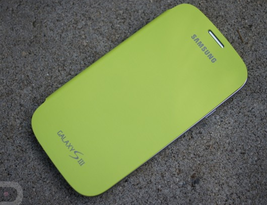 Quick Look- Galaxy S3 Flip Cover in Pastel Green – Droid Life
