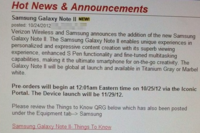 Verizon Targets November 29 as Launch Day for Galaxy Note 2 – Droid Life