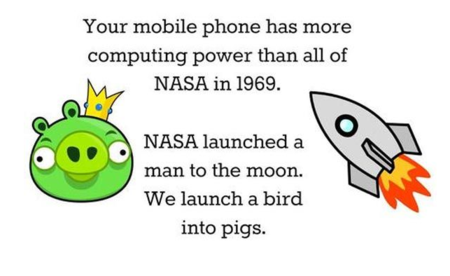 NASA's Computing Power in 1969 vs. Your Smartphone  Pic    Geeks are Sexy Technology News