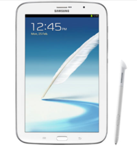 Samsung Galaxy Note 8.0 official  1.6GHz Exynos 4 Quad  1280 x 800 display  HSPA  21  Android Jelly Bean 4.1.2
