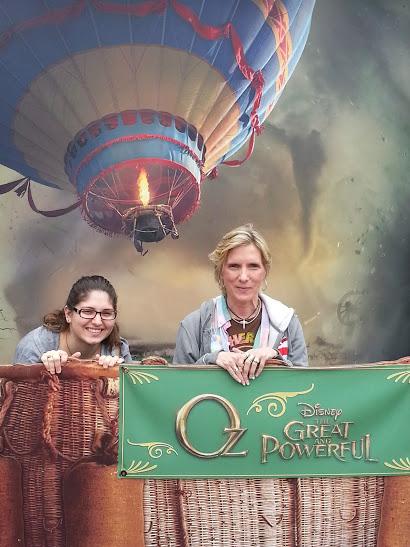 Jacquelynand ariana in a balloon