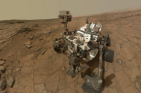 Mars Rover Curiosity in Safe Mode After Computer Glitch   Space.com