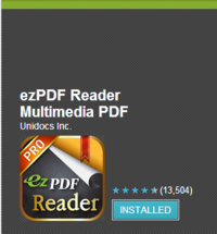 EzPDF Reader Multimedia PDF   Android Apps on Google Play