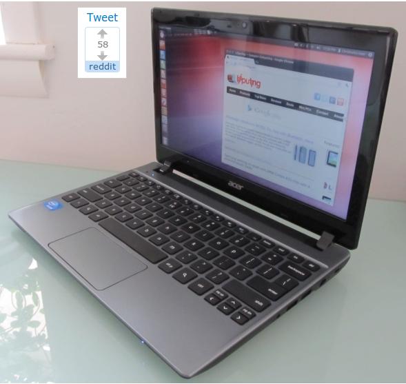 How to install Ubuntu 12.04 on the $199 Acer C7 Chromebook - Liliputing