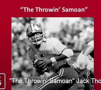 Throwin samoan