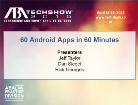 60 android apps