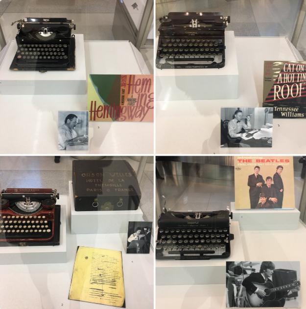 Typewriters of great writers