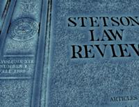 Stetsonlawreview
