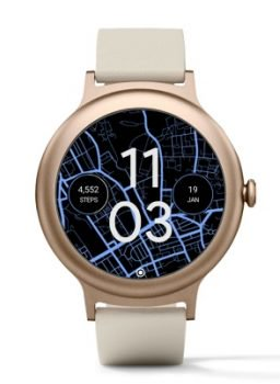 Android wear dots