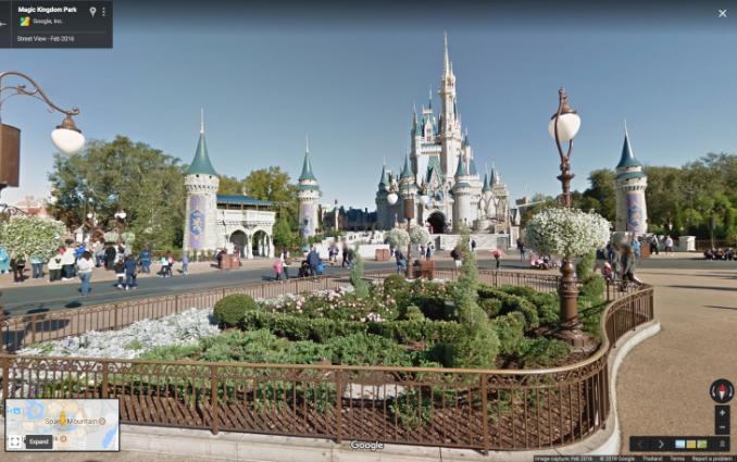 Disneystreetview