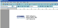Wordperfect letterhead template