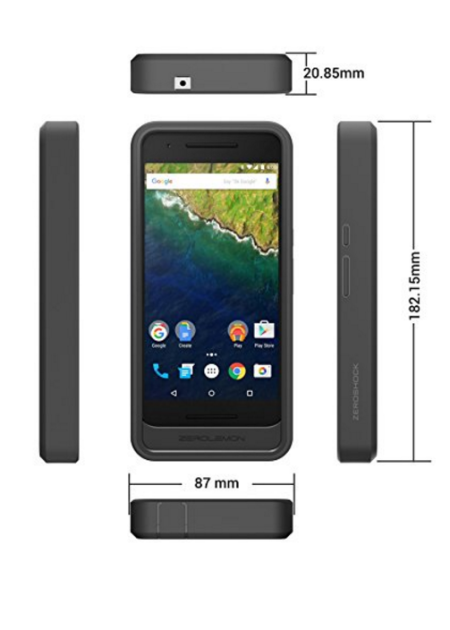 Nexus 6p battery case