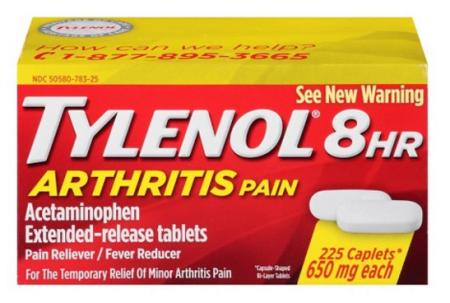 Tylenolarthritis