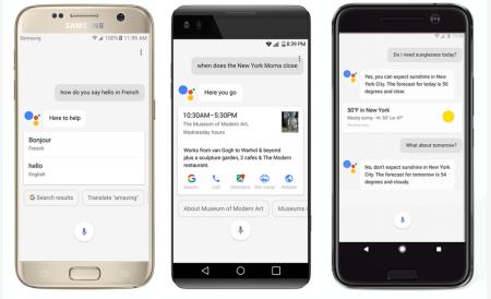 Googleassistantonphones