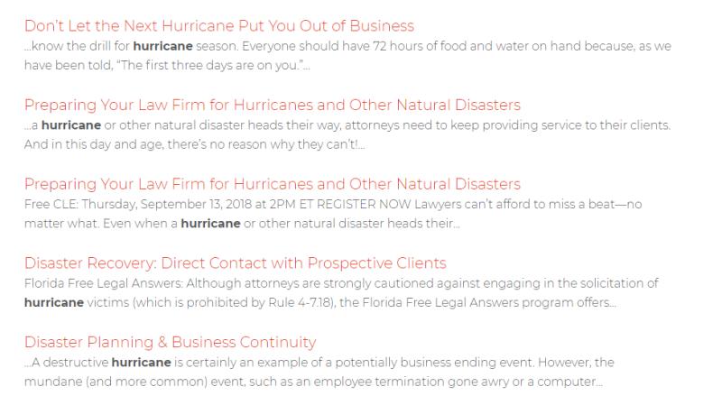 Hurricaneplanning