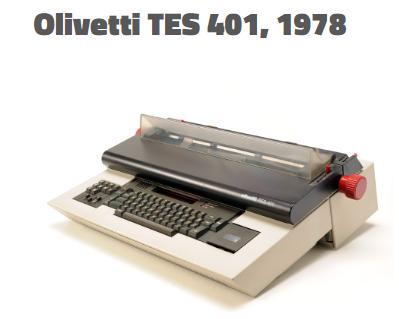 Olivetti tes401