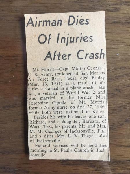 Dad death notice newspaper
