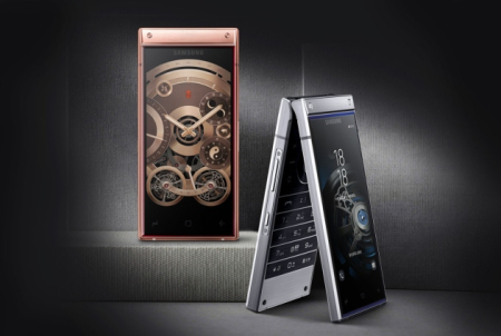 Samsung-W2019-Flip-Phone