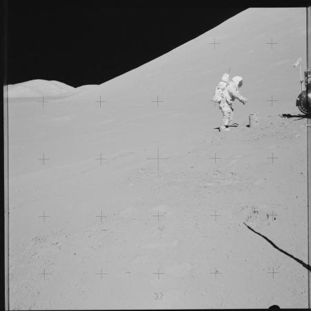 EVA on Moon