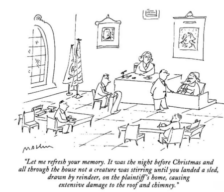 Santa on trial