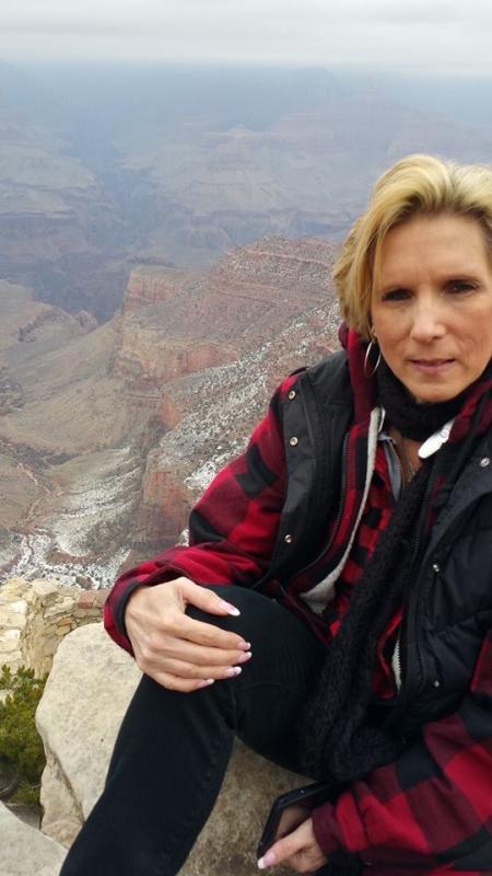 SWMBO at Canyon