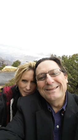 Selfie at the south rim