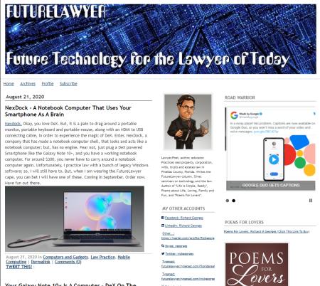 Futurelawyer page