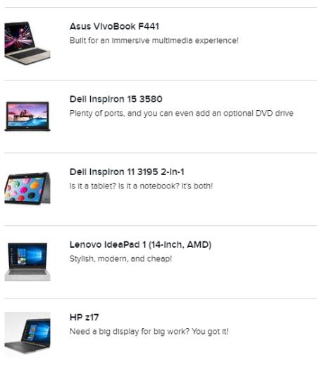 Budgetlaptops