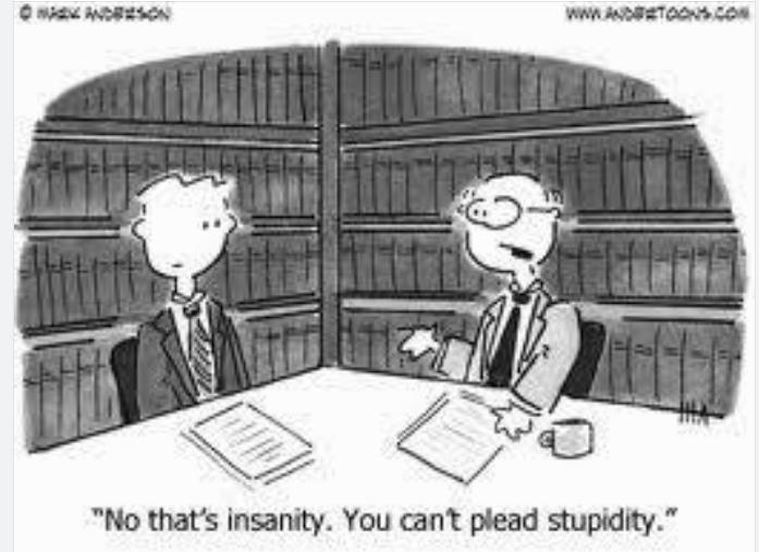 Insanityplea