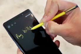 Note stylus