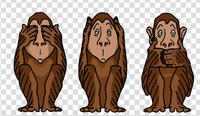 Monkeyseenoevil